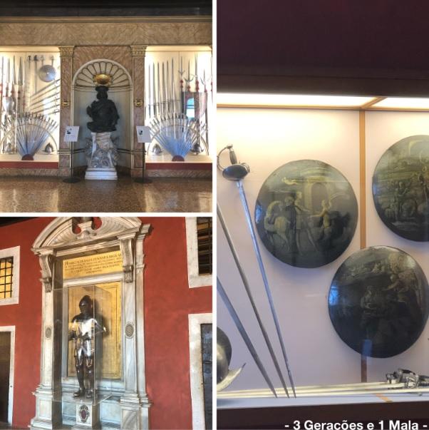 Palacio Ducal - Sala das armaduras